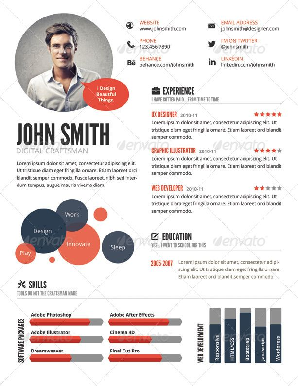 top infographic resume templates visual graphic template restaurant manager objective Resume Infographic Resume Template