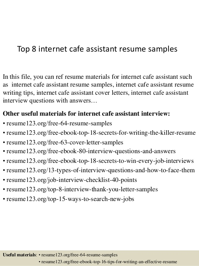 top internet assistant resume samples attendant latest trends mixologist export import Resume Internet Cafe Attendant Resume