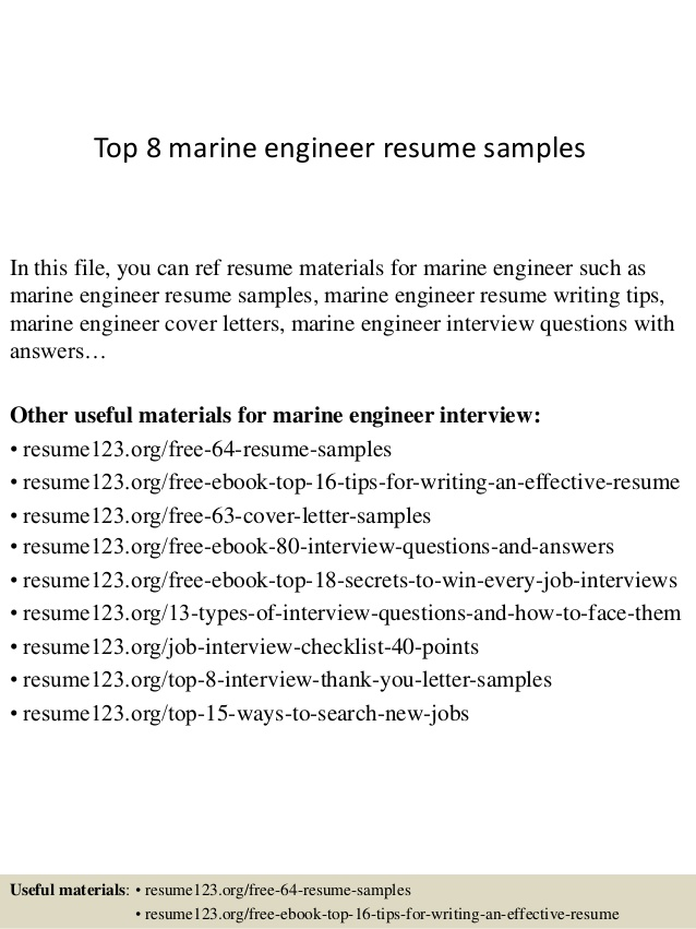top marine engineer resume samples chief sample coding city bus driver msw intern medical Resume Marine Chief Engineer Resume Sample