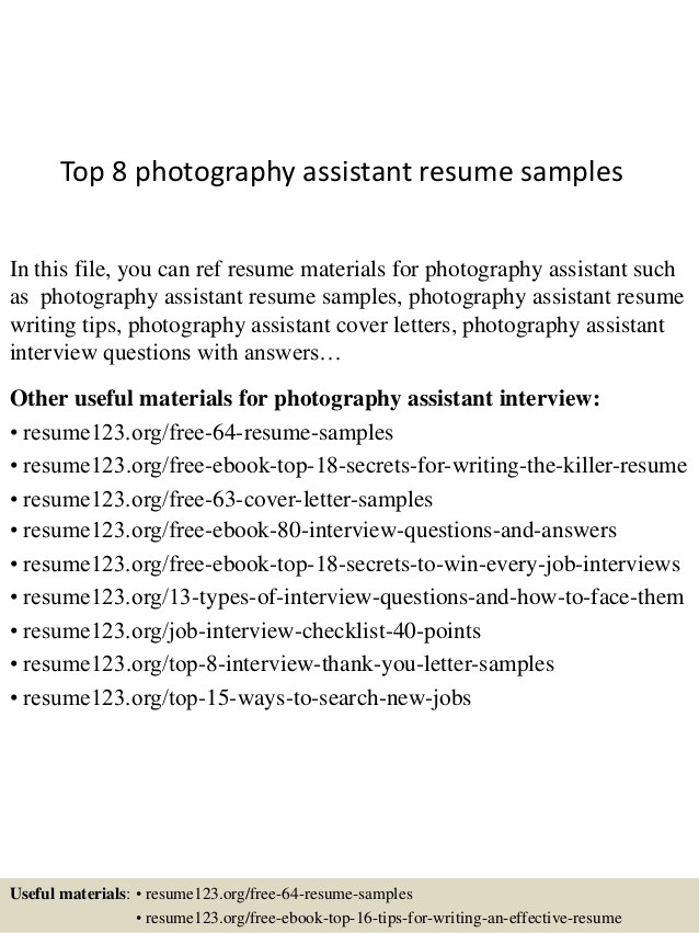 top photography assistant resume samples photographer cara email certified medical health Resume Photographer Assistant Resume