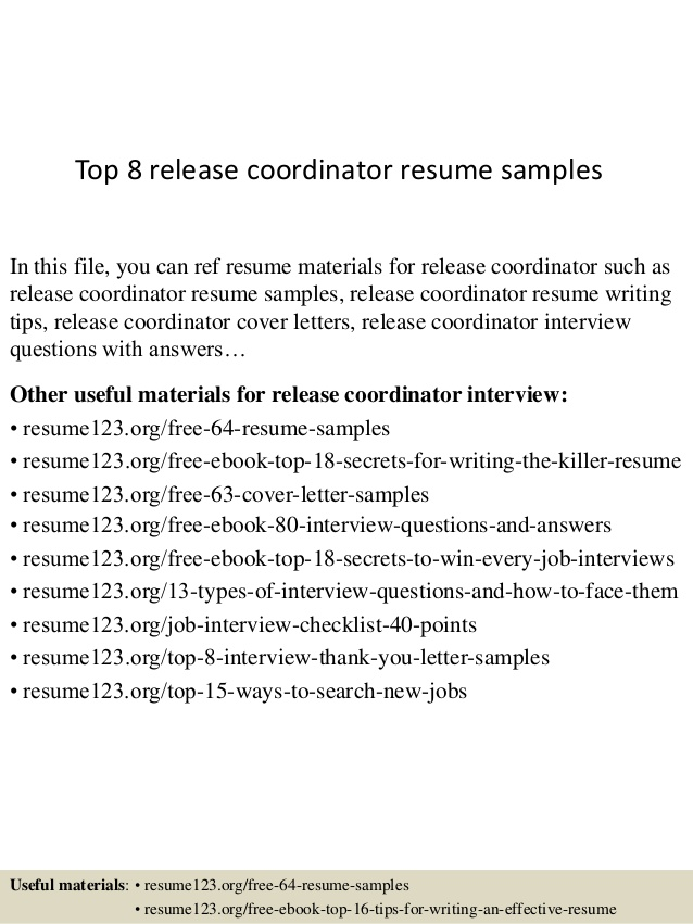 top release coordinator resume samples quick free creator indeed font social services Resume Release Coordinator Resume