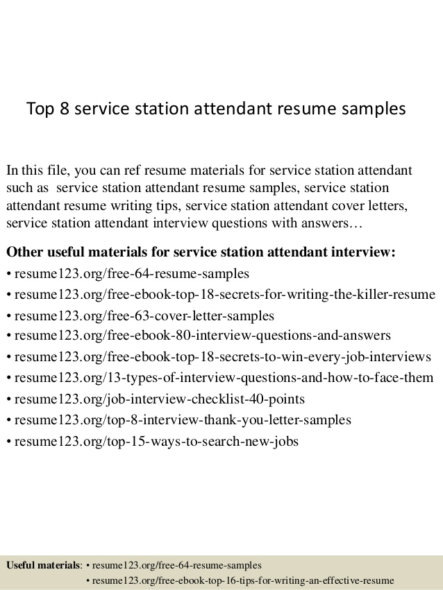 top service station attendant resume samples gas experience free instant review aerospace Resume Gas Station Experience Resume