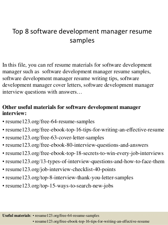 top software development manager resume samples summary organization on checkpoint Resume Software Development Manager Resume Summary