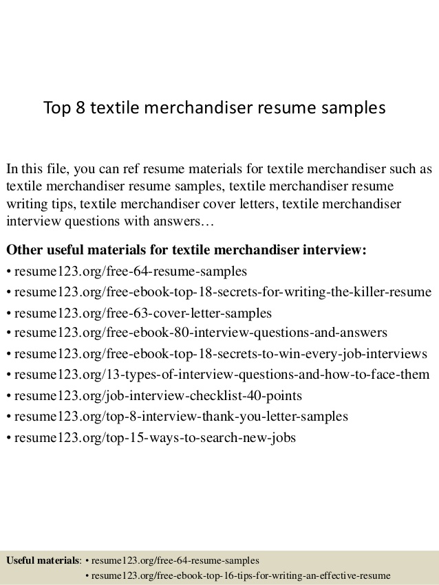 top textile merchandiser resume samples objective airframe and powerplant examples Resume Merchandiser Resume Objective