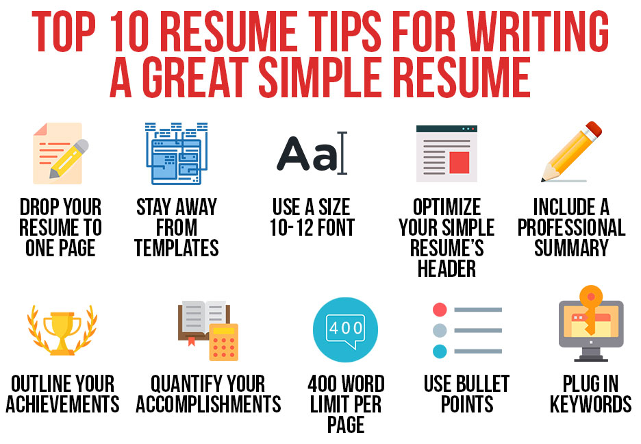 top tips for writing great resume points simple skills paragraph sample international Resume Points For Resume Writing