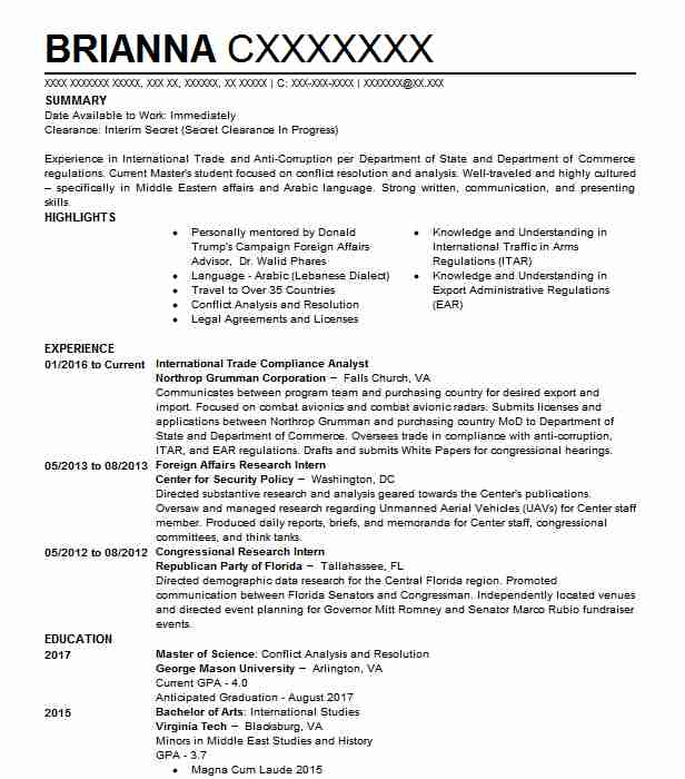 trade compliance manager resume example corporation novelty international specialist Resume International Trade Specialist Resume Sample