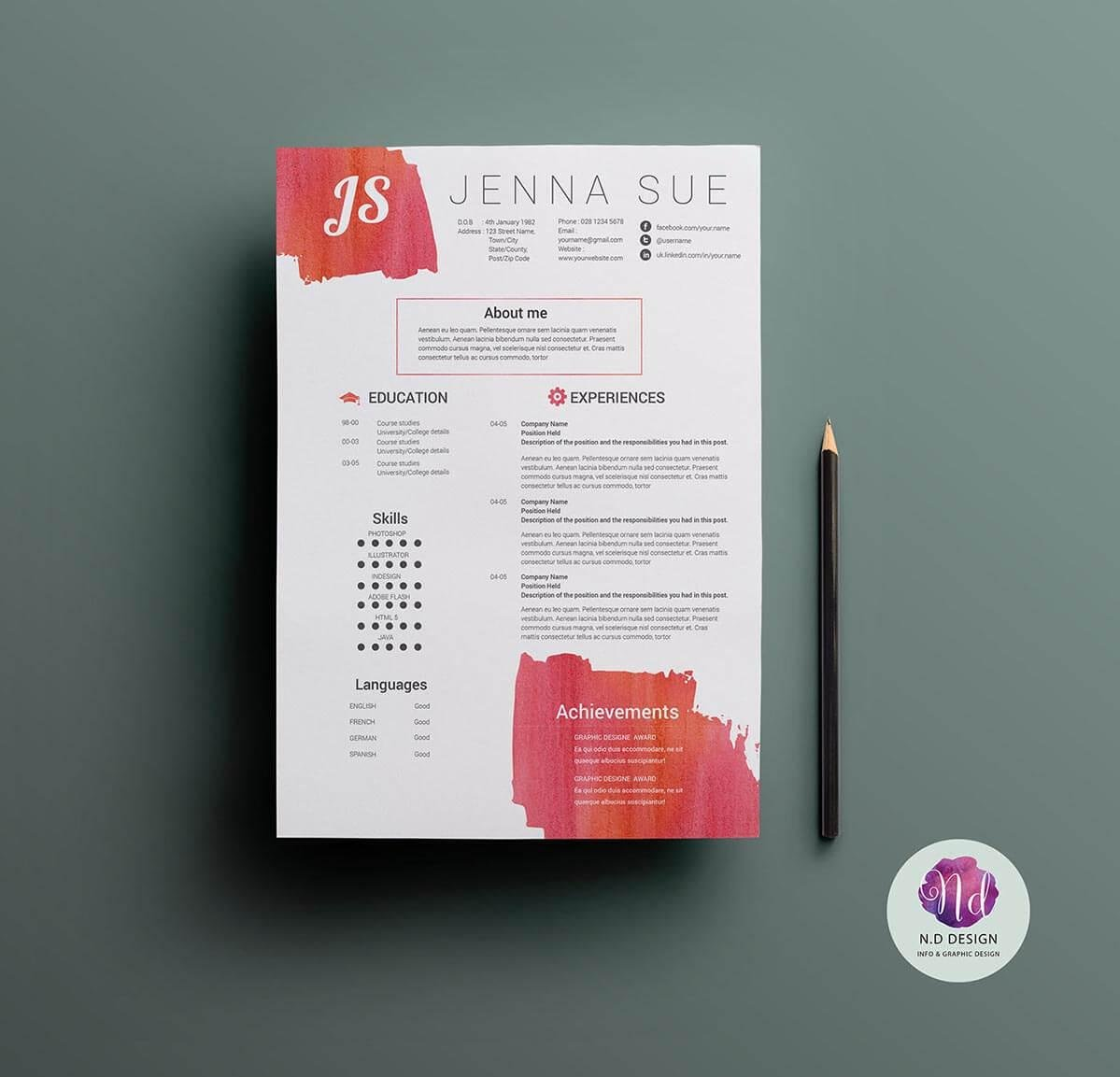unique resume templates to use now fun free investment banking example applied behavior Resume Fun Resume Templates Free