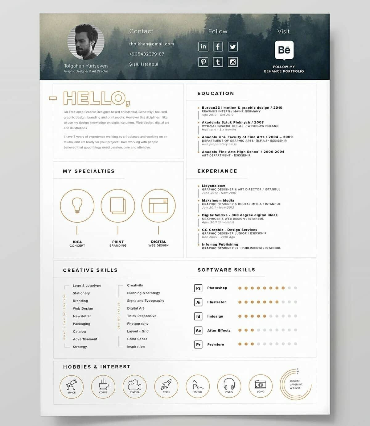 unique resume templates to use now fun free web and graphic designer relationship manager Resume Fun Resume Templates Free