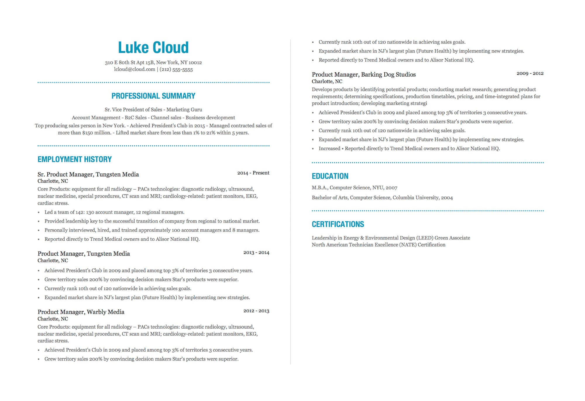ve been perfecting résumés for years here the best advice can give business insider Resume Resume Bullet Points Example