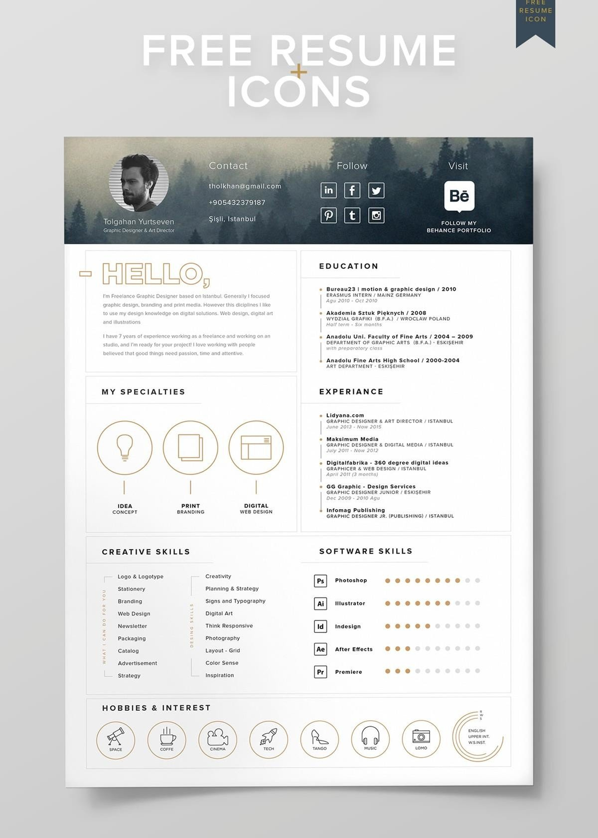 visual cv resume templates for free visually attractive making your first new grad Resume Visually Attractive Resume