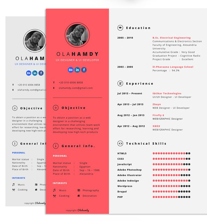 well designed resume examples for your inspiration desain cv sample templates best model Resume Well Designed Resume Examples