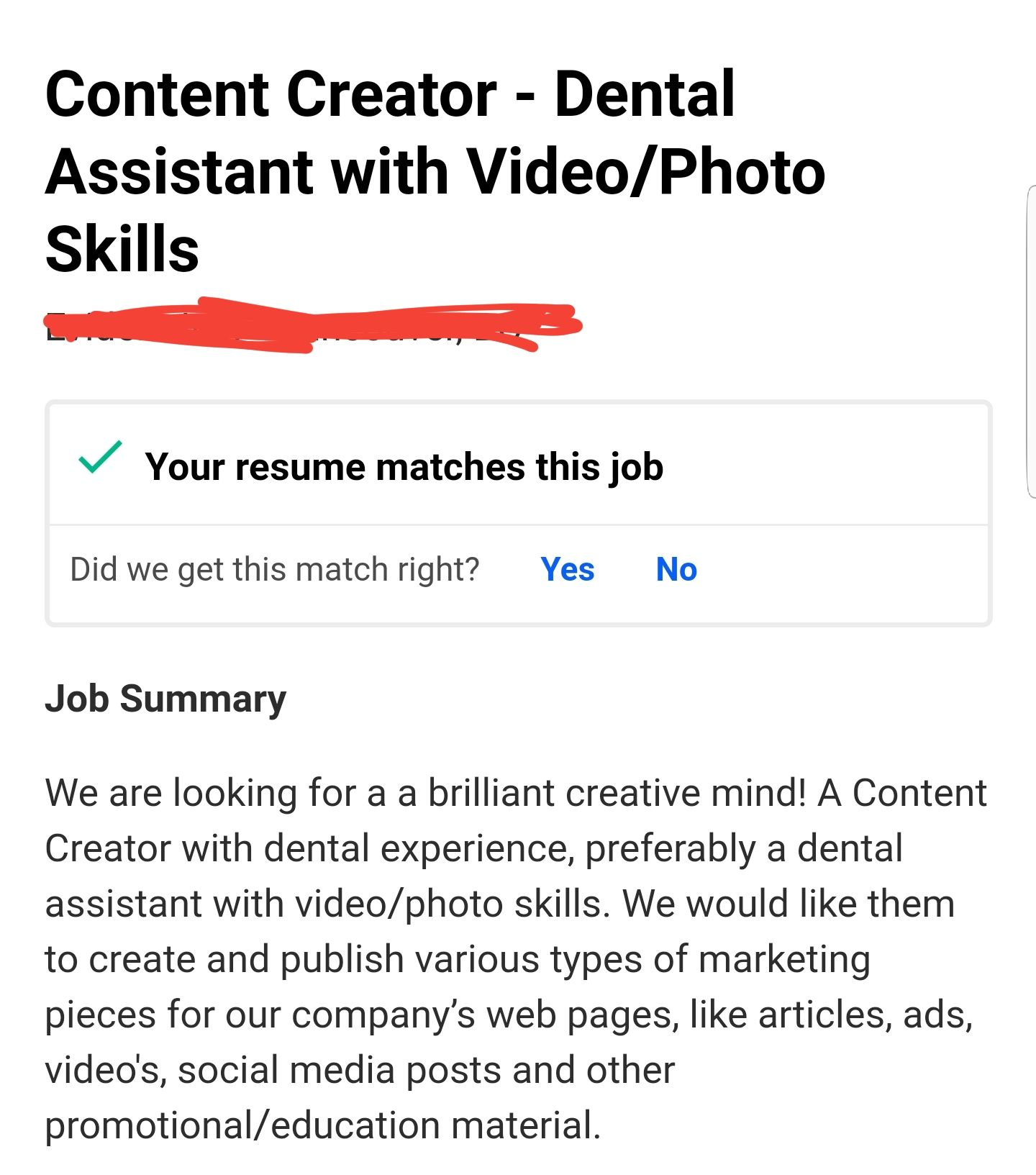 your resume matches this job dental assistant printer technician sommelier samples cover Resume Your Resume Matches This Job