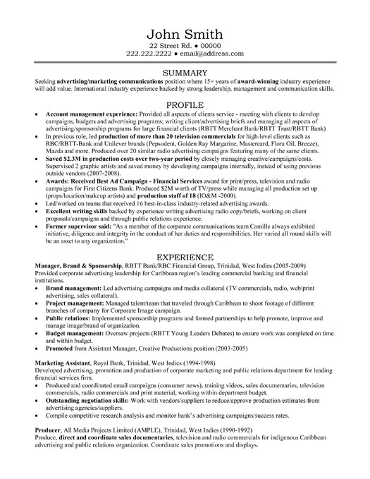 account manager resume sample template example professional food server experience catchy Resume Account Manager Resume Example