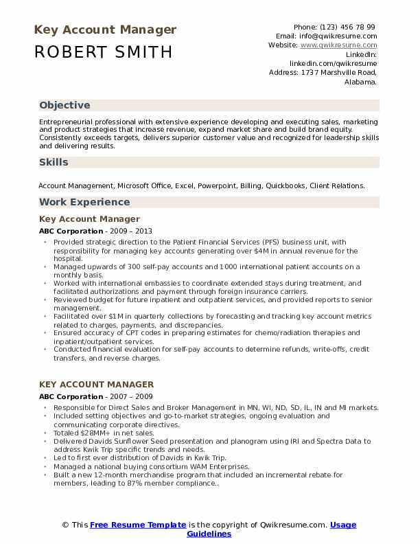 account manager resume samples qwikresume example pdf reporter best free websites Resume Account Manager Resume Example