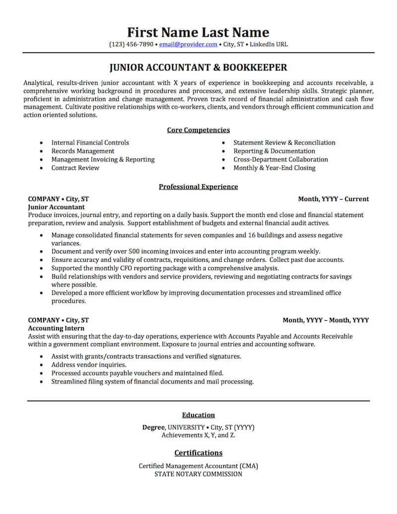 accounting auditing bookkeeping resume samples professional examples topresume accountant Resume Accountant Resume Sample