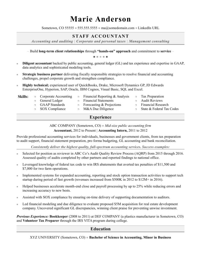 accounting resume sample monster writing services accountant personal banker one dental Resume Accounting Resume Writing Services