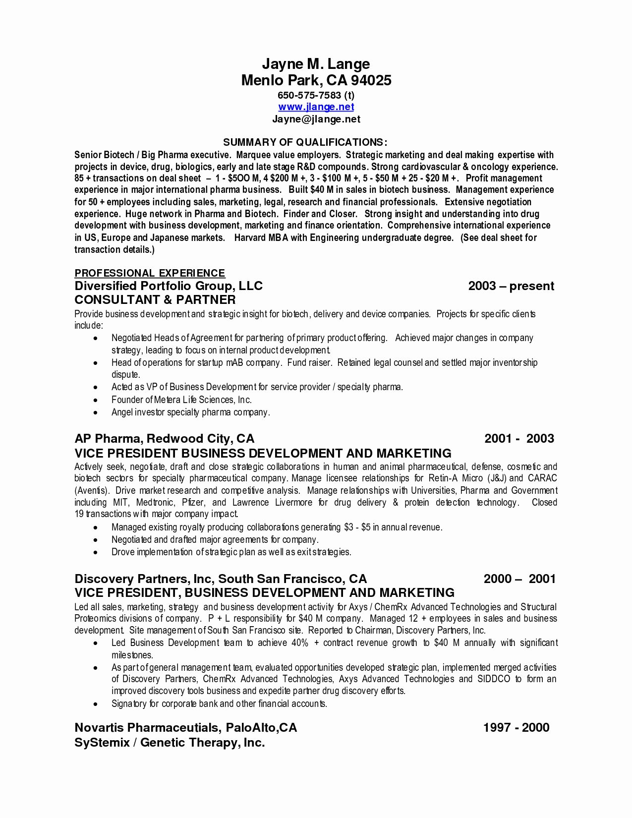 accounting resume summary of qualifications examples elegant best job template with Resume Resume Template With Summary Of Qualifications