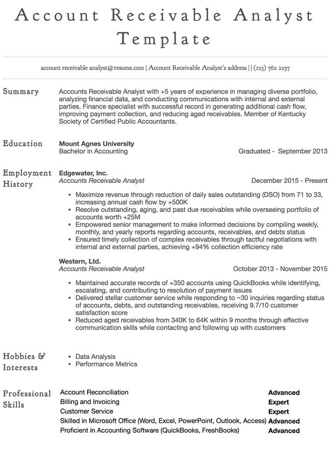 accounts payable resume samples all experience levels sample financial general example Resume Accounts Payable Resume Sample