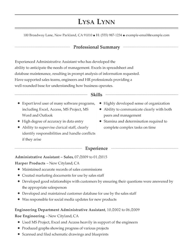 administrative support combination resume samples examples format templates help template Resume Combination Resume Format Template