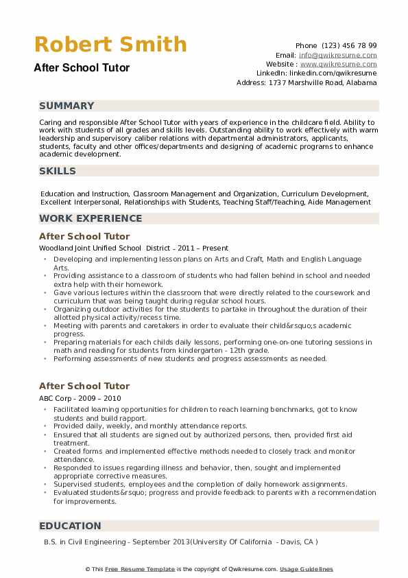 after school tutor resume samples qwikresume responsibilities of for pdf serif font Resume Responsibilities Of A Tutor For Resume