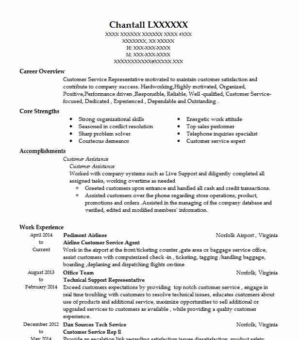 airline customer service agent resume example livecareer aviation writing monster review Resume Aviation Resume Writing Service