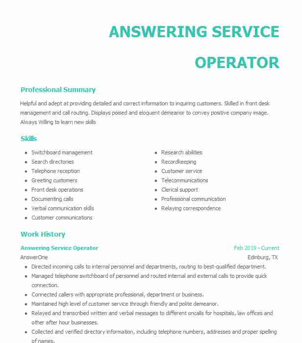 answering phone calls resume example disney call center memphis pool cleaner entry level Resume Answering Phone Calls Resume
