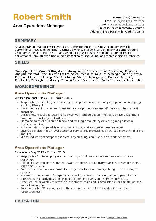 area operations manager resume samples qwikresume sample pdf assist synonym generator Resume Operations Manager Resume Sample