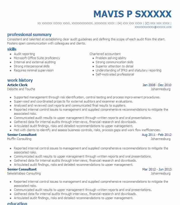 article assistant resume example chauhan co chartered accountants village new mining Resume Article Assistant Resume