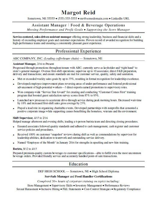 assistant manager resume monster food and beverage director pastry chef template mechanic Resume Food And Beverage Director Resume