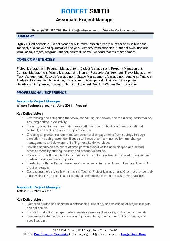 associate project manager resume samples qwikresume budget pdf first time job for high Resume Project Manager Budget Resume