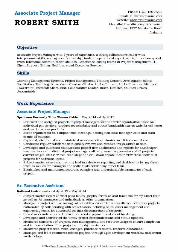 associate project manager resume samples qwikresume objective pdf logo sap security Resume Project Manager Resume Objective