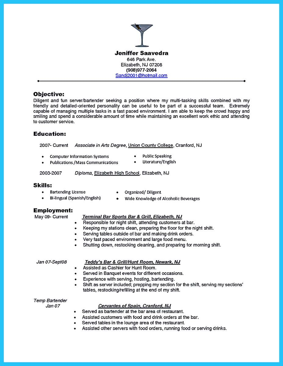 bartender resume ideas examples server killer medical reviewer worded review sample with Resume Killer Bartender Resume