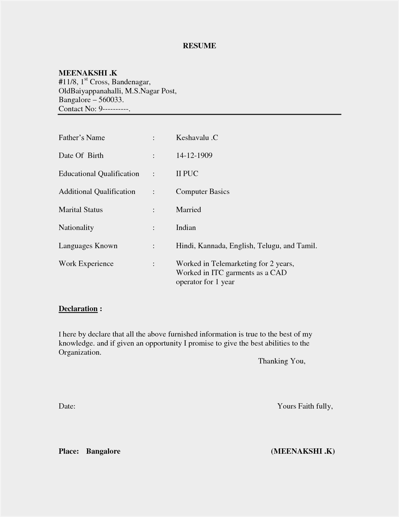 basic resume format pdf sample simple receptionist duties samples job objective ideas Resume Basic Simple Resume Sample