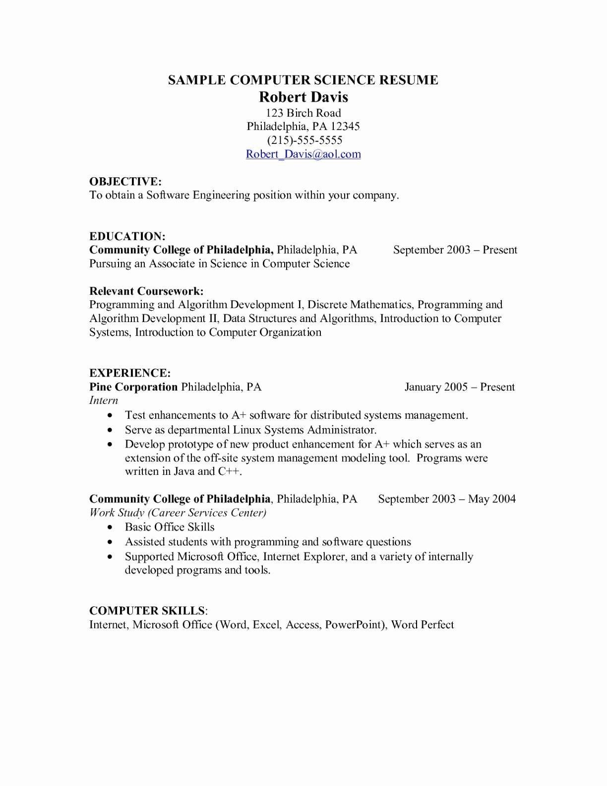 beautiful collection of resume computer skills examples proficiency internet explorer Resume Internet Experience Resume