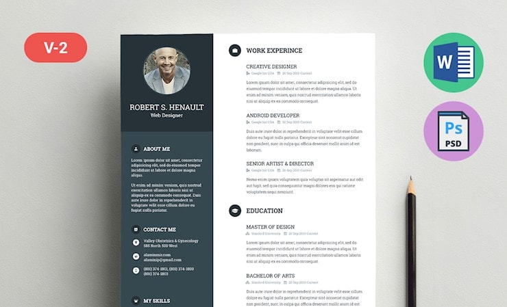 beautiful cv templates to land job hipsthetic free resume for android robert template Resume Free Resume Templates For Android