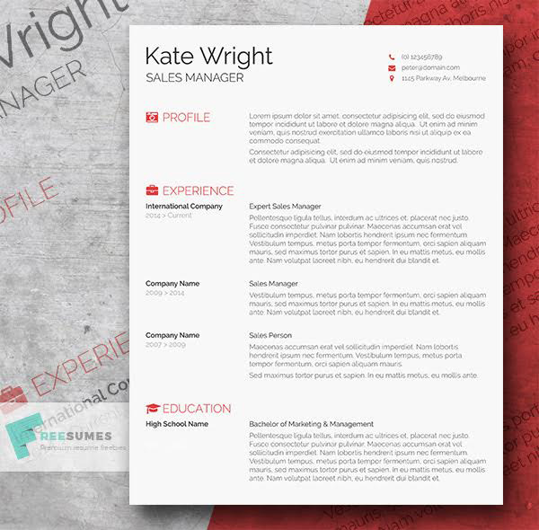 beautiful free resume cv templates in indesign formats for adobe word template front end Resume Resume Templates For Adobe Indesign