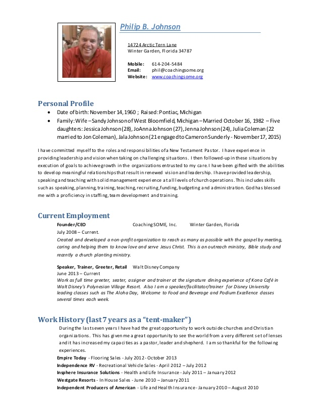 beautiful ministry resumes examples resume phil pastoral holder review monster Resume Ministry Resume Examples