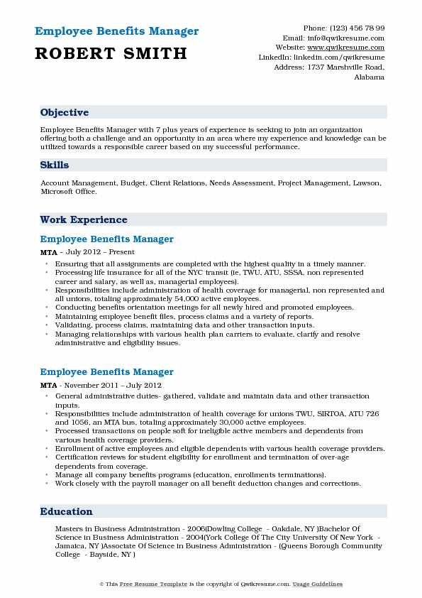 benefits manager resume samples qwikresume compensation and pdf hard working skills for Resume Compensation And Benefits Manager Resume