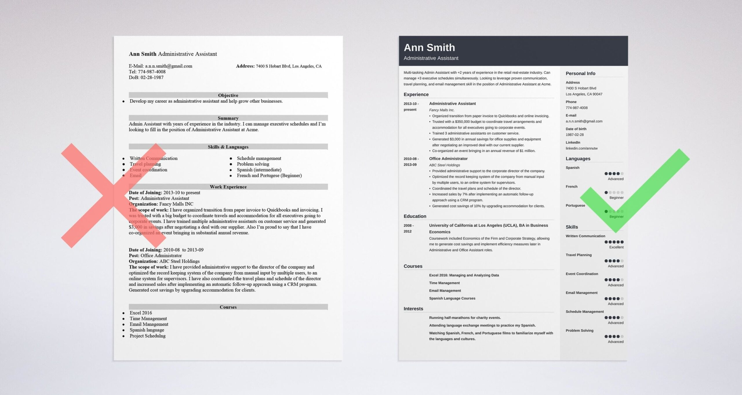 best administrative assistant resume examples template for performance testing sample Resume Best Resume Template For Administrative Assistant