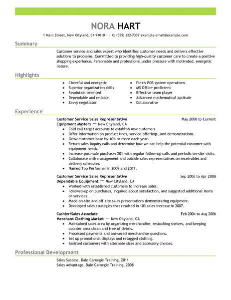 best customer service representative resume example livecareer qualifications for Resume Qualifications For Customer Service Representative Resume
