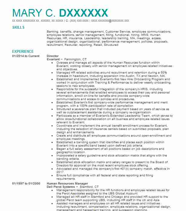best director resume example livecareer for position free templates editable high school Resume Resume For Director Position