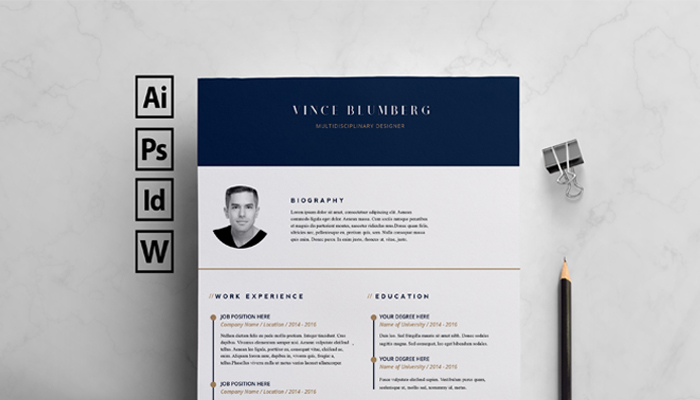 best free indesign resume templates updated template personal information format Resume Indesign Resume Template