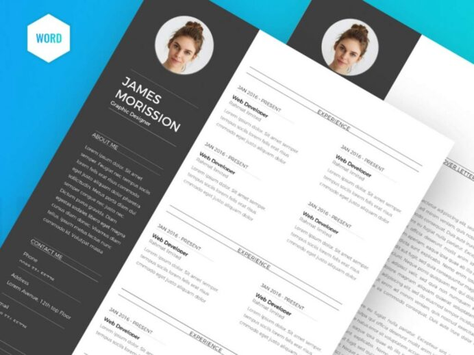 best free ms word resume templates webthemez top template 1000x750 oracle access manager Resume Top Resume Templates Word