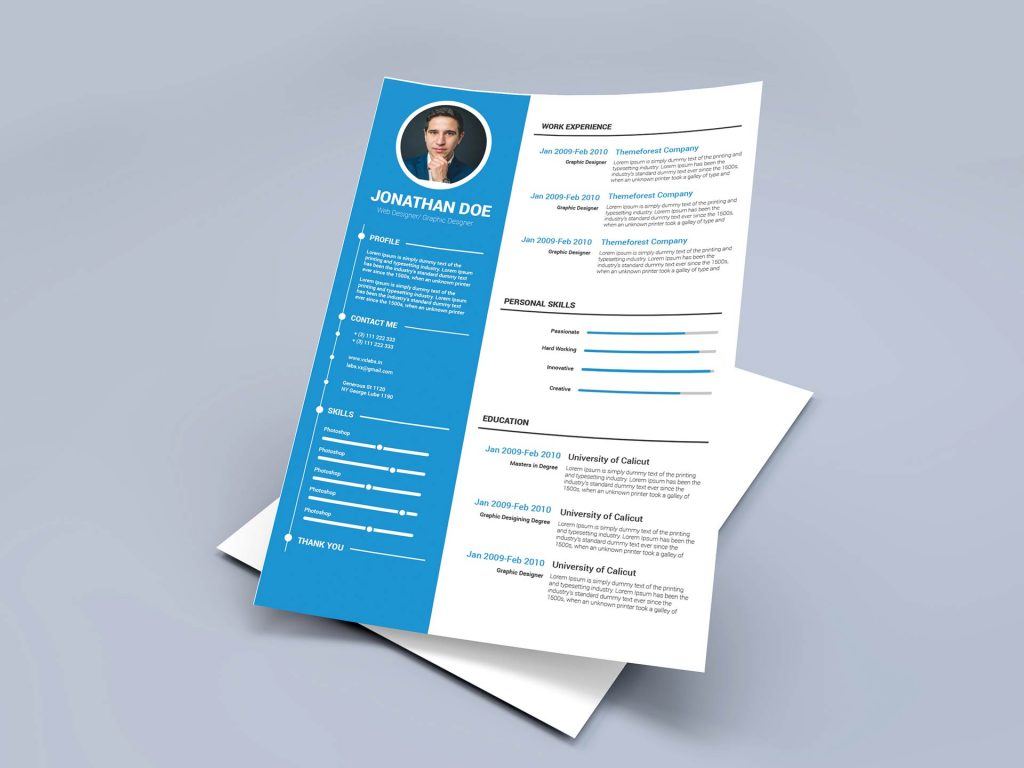 best free ms word resume templates webthemez two column template modern 1024x768 for Resume Free Two Column Resume Template Word