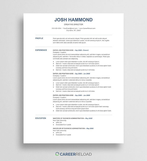 best free resume templates in google docs dezzain for template financial analysis skills Resume Resume Templates For Google Docs Free