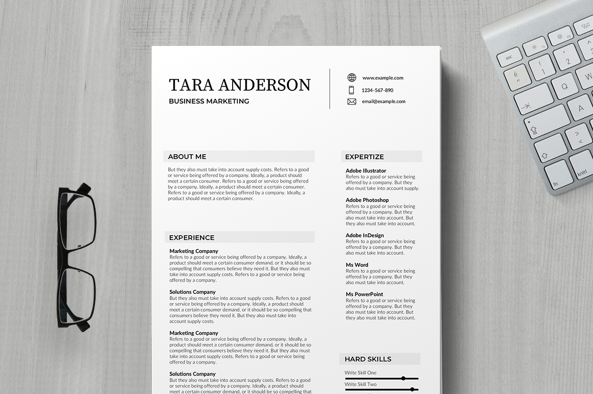 best free resume templates of indesign template mayenne certified nursing assistant Resume Indesign Resume Template