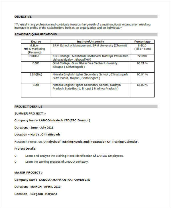 best fresher resume templates pdf free premium format for bsc students accountant sample2 Resume Resume Format For Bsc Students