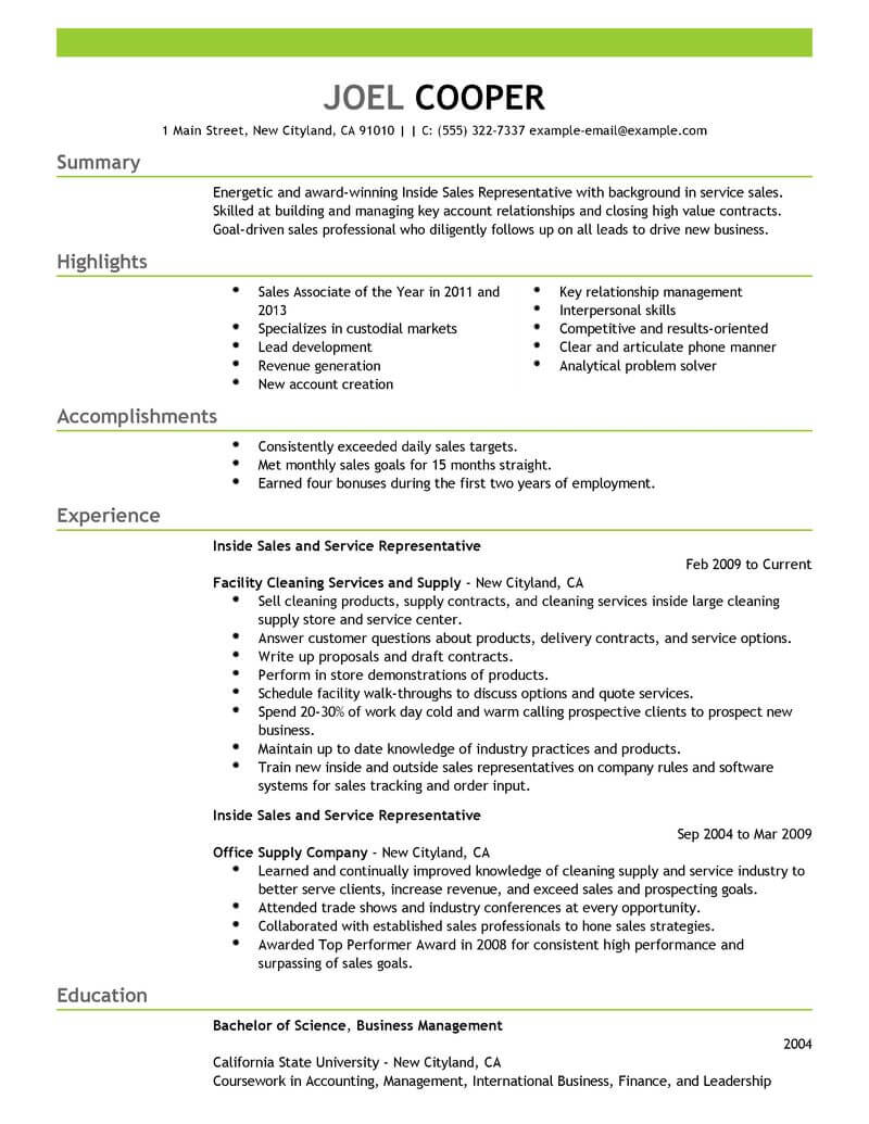 best inside resume example from professional writing service template funny samples sap Resume Inside Sales Resume Template