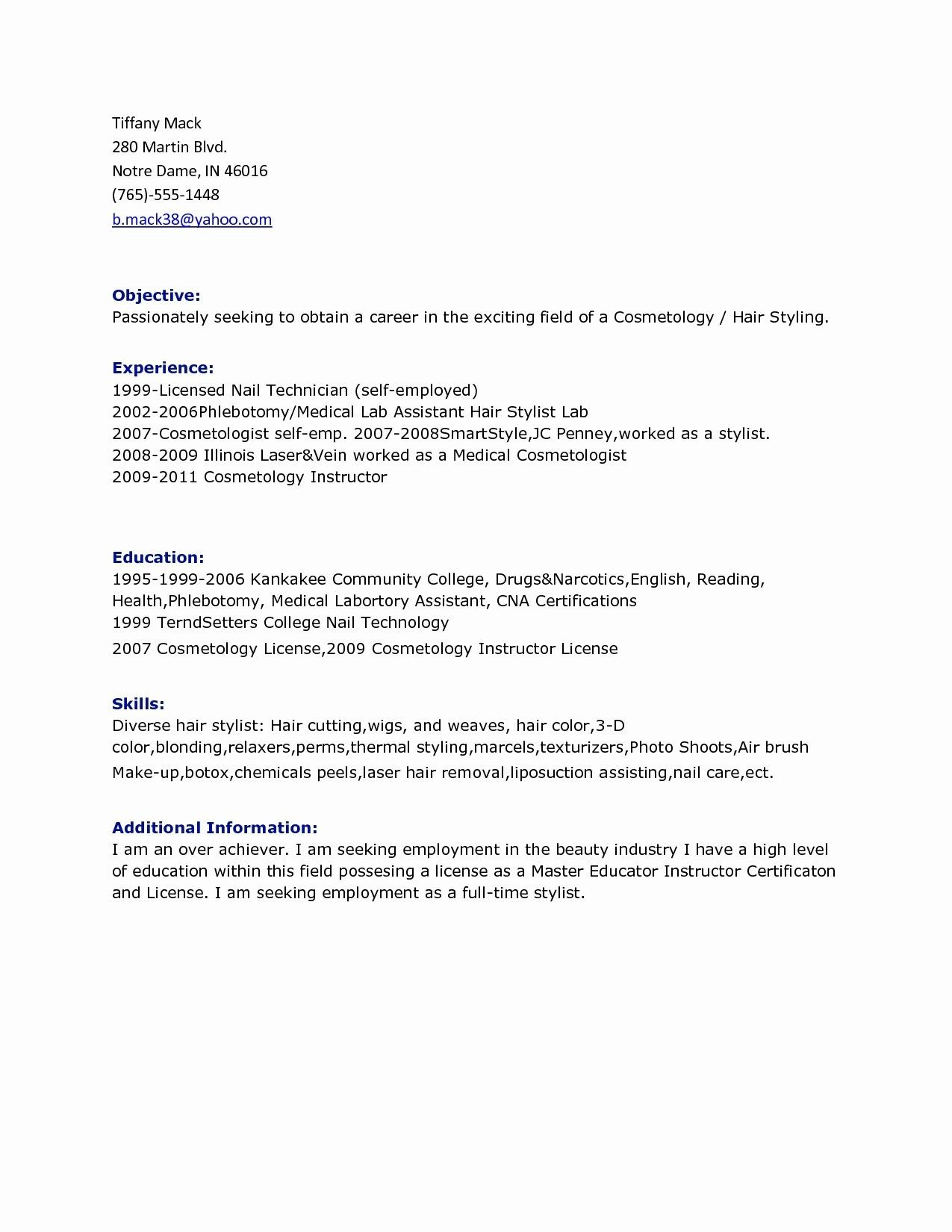 best of collection resume samples for pharmacy technician in retail check more at https Resume Laser Hair Removal Resume