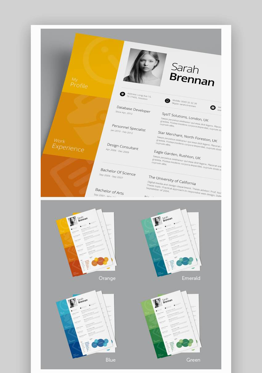best one resume templates simple to use format examples single template skill set if you Resume Single Page Resume Format